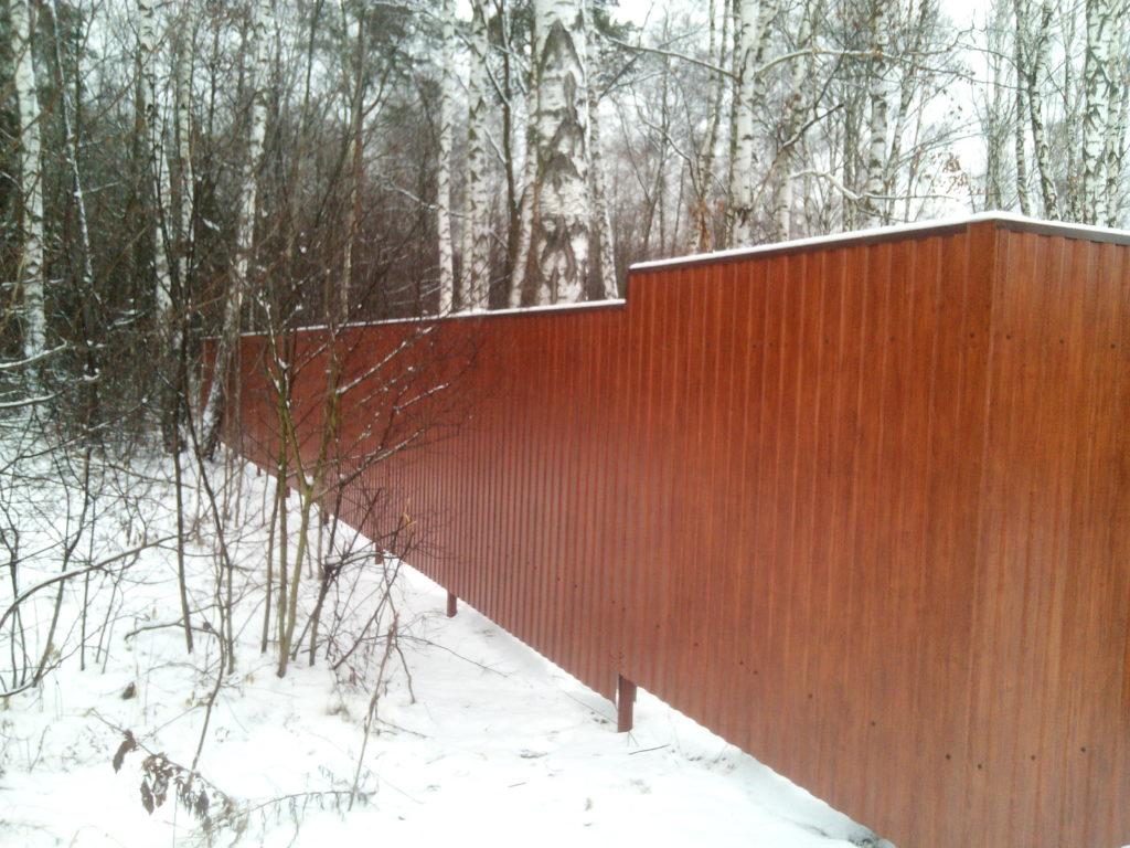 забор лыткарино