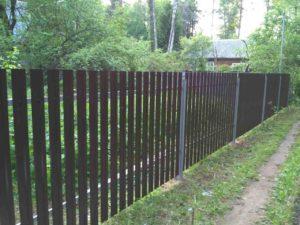 заказать забор в московской области